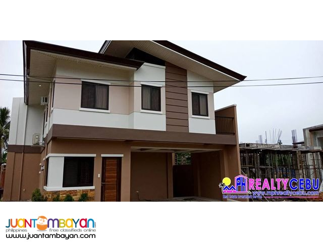 CHANTAL - HOUSE FOR SALE AT SOUTH CITY HOMES MINGLANILLA CEBU