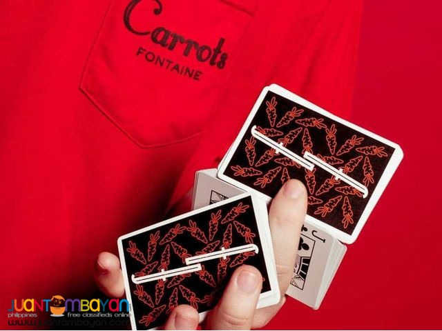 Fontaine Carrots v2 Playing Cards