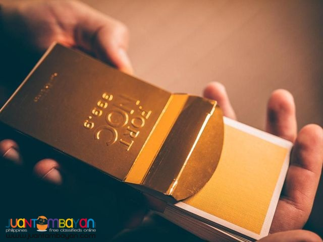 FORT NOCS Gold Limited Edition Playing Cards