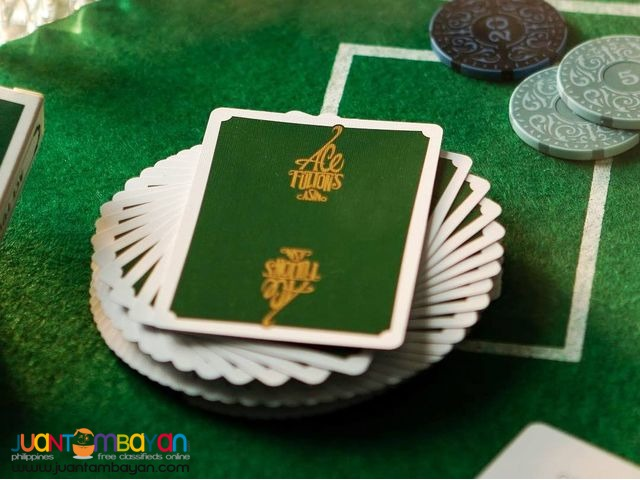 Green Ace Fulton's Casino Playing Cards