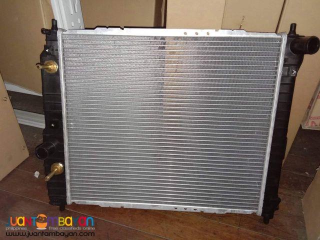 Chevrolet aveo radiator assy