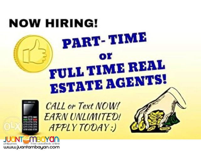 Job Hiring Real Estate Agent in Cebu