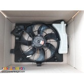 Hyundai accent radiator fan assembly