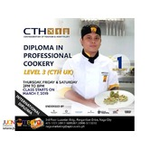 Diploma in Professional Cookery Level 3 CTH UK