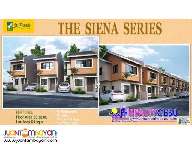 64m² Single Attached House in St Francis Hills Consolacion Cebu