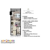Preselling 1 Bedroom with Balcony in Park McKinley West