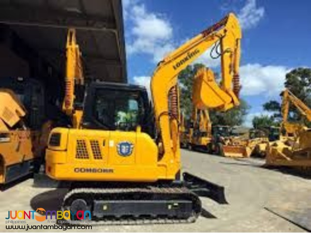 backhoe excavator CDM6060 0.25 cubic lonking