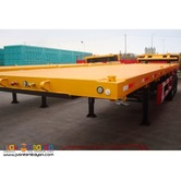 40ft Tri-Axle Flatbed Semi-Trailer (12 lock)