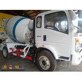 6 Wheeler HOMAN Transit Mixer Truck 4cmb EURO 4