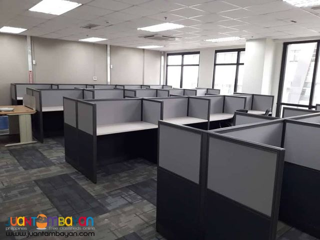 Modular Office Partition Cubicles and Tables