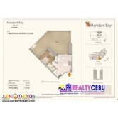 1 BR Garden Deluxe Unit (539) at The Mandani Bay Quay Mandaue
