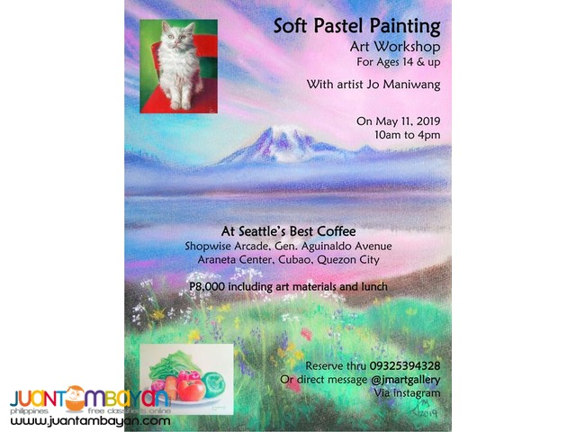 Soft Pastel Painting Art Workshop