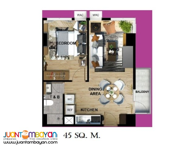 1 BR AFFORDABLE CONDO AT PASEO GROVE LAPU-LAPU CITY, CEBU