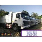 10 Wheeler HOWO T7 Dump Truck EURO 4