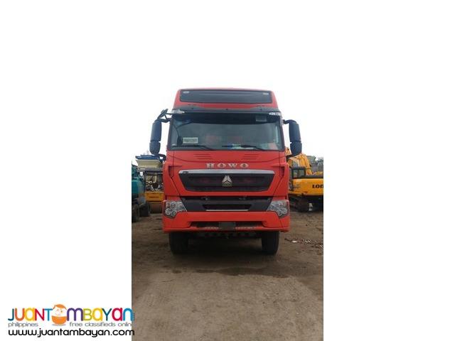 12 Wheeler HOWO T7 Dump Truck EURO 4