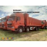 T7 12 wheeler Dump Truck sinotruck