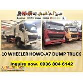 10 wheeler dump truck sinotruk A7 Howo 20 cubic