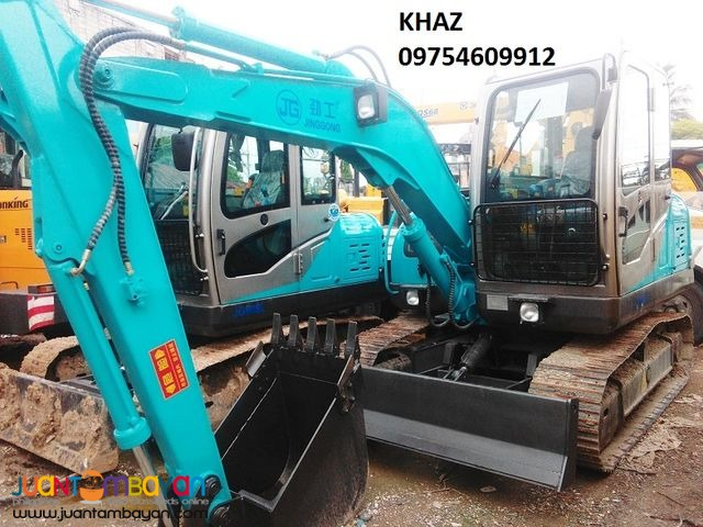 JG608 Chain Type Backhoe