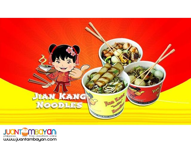 Jian Kang Noodles Open for Franchise NATIONWIDE