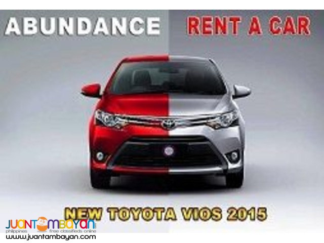 CAR RENTAL!! AVAIL OUR PROMO NOW!! CALL : 09088733554