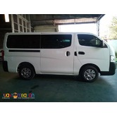 NISSAN URVAN FOR RENT AT VERY AFFORDABLE PRICE! 09989632040