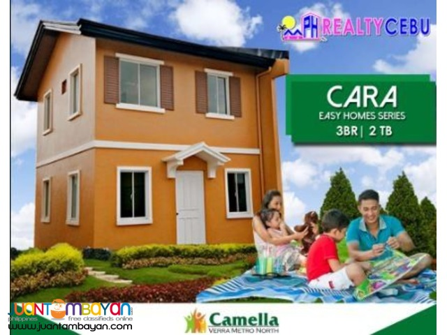 3BR HOUSE IN CAMELLA RIVERFRONT PIT-OS CEBU CITY -CARA MODEL
