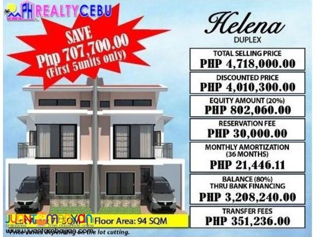 4BR HOUSE FOR SALE AT CITADEL ESTATE LILOAN CEBU- HELENA MODEL