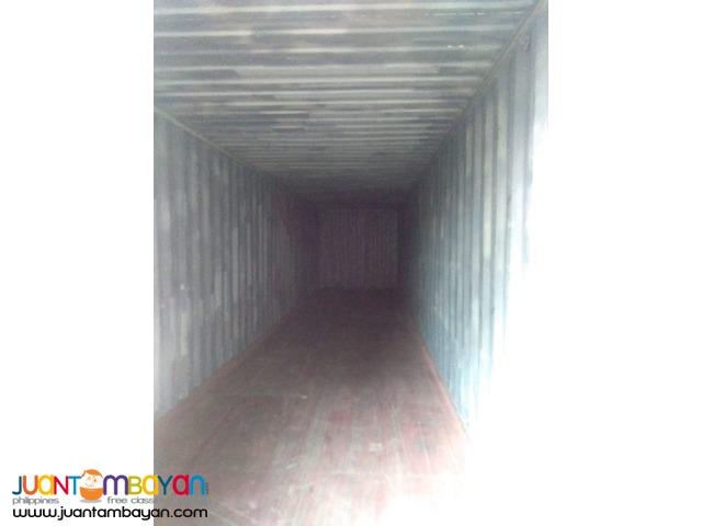 40'ft Container vans