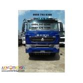 HOWO A7 - T7 front face 10 Wheeler Dump Truck 20m³