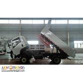 Sinotruk Homan 6Wheeler 4x4 4m³ Mini Dump Truck