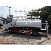 4kl Water Truck Cnhtc Homan (Brand New Unit)