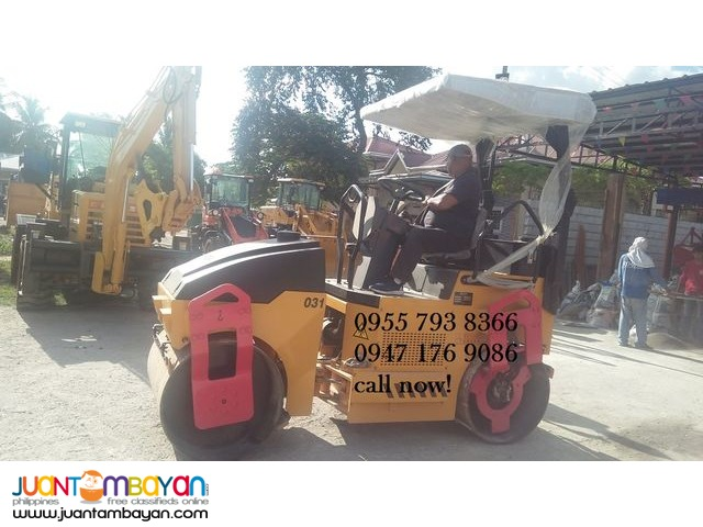 GYD031 vibratory Road Roller (pizon) 3 tons
