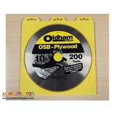 Oldham 100P 10-inch x 200-tooth OSB Plywood Saw Blade