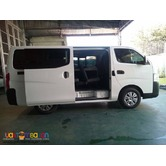 NISSAN URVAN FOR RENT AT LOWEST PRICE!