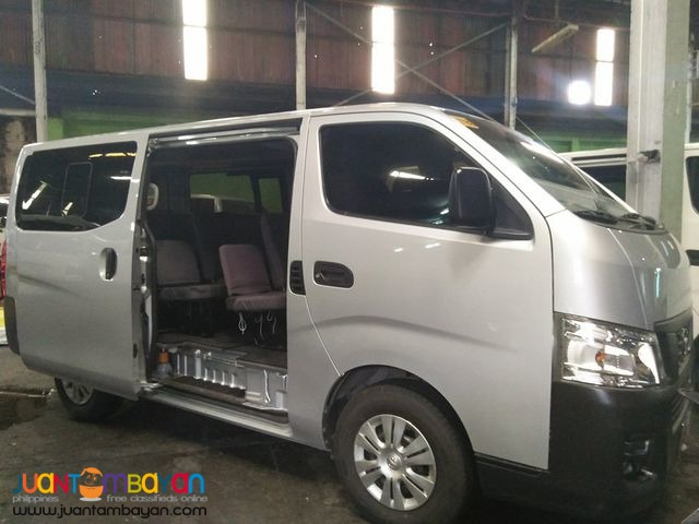 Nissan Urvan for Rent at Lowest price! 09989632040