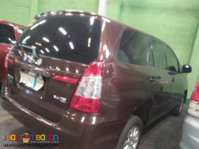 Toyota Innova For Rent at Lowest Price! CALL/TEXT 09989632040