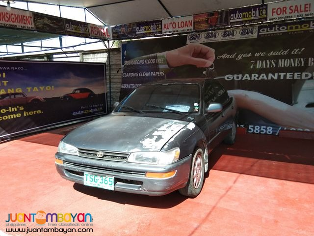 1994 Toyota Corolla Limited Gas M/T