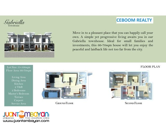 Citadel Estate at Cotcot Liloan Townhouse - see details
