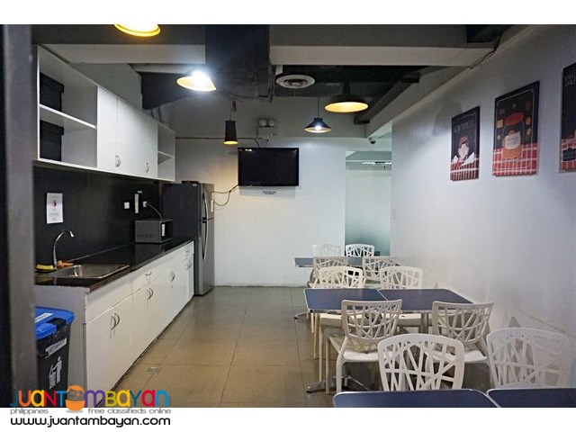 80 sqm Serviced Office Space for Lease in Makati City
