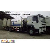 Howo A7 10wheeler Self Loading Truck with 6t winch