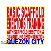 Basic Scaffold Erectors Training with Erection Dismantling