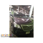 TOYOTA INNOVA FOR RENT AT VERY AFFORDABLE PRICE! 09989632040