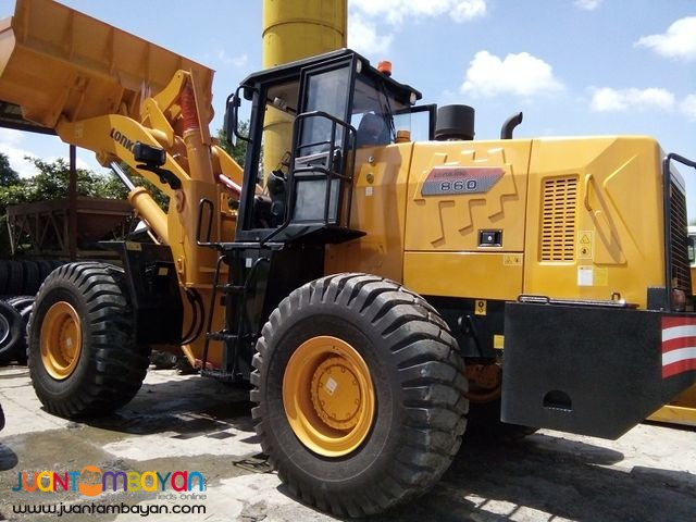 CDM860 Lonking Wheel Loader 3.5cbm Bucket Size