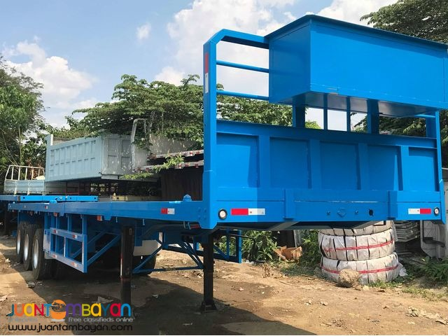 40ft Tri-Axle Flatbed Semi-Trailer