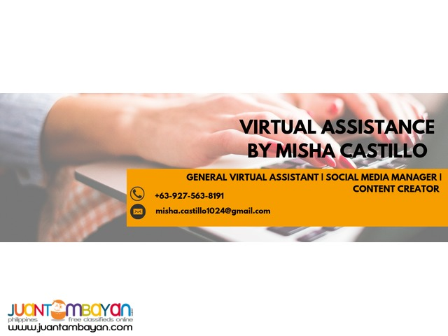 Virtual Assistance by Misha Castillo