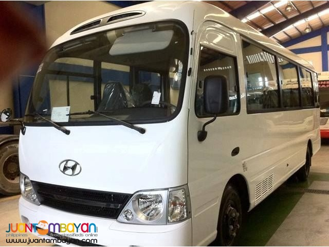 Hyundia Coaster for Rent  Call/Text 09989632040