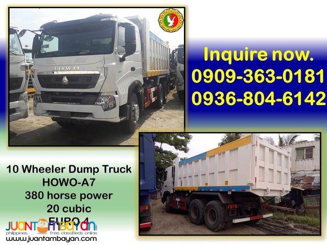10 wheeler dump truck 20 cubic
