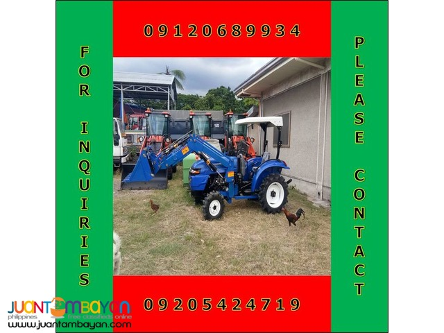 BRAND NEW UNIT! FARM TRACTOR WITH FRONT END LOADER