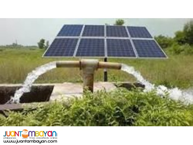 brand new solar water pumps !