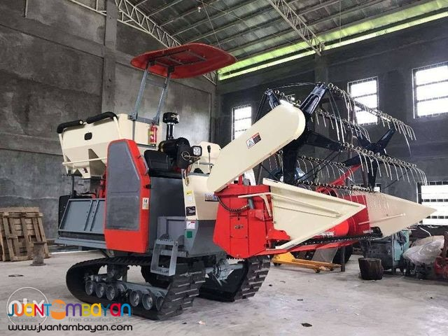 RICE AND CORN HARVESTER AMTEC TESTED